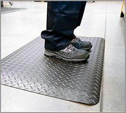 Ergonomische Fußmatte